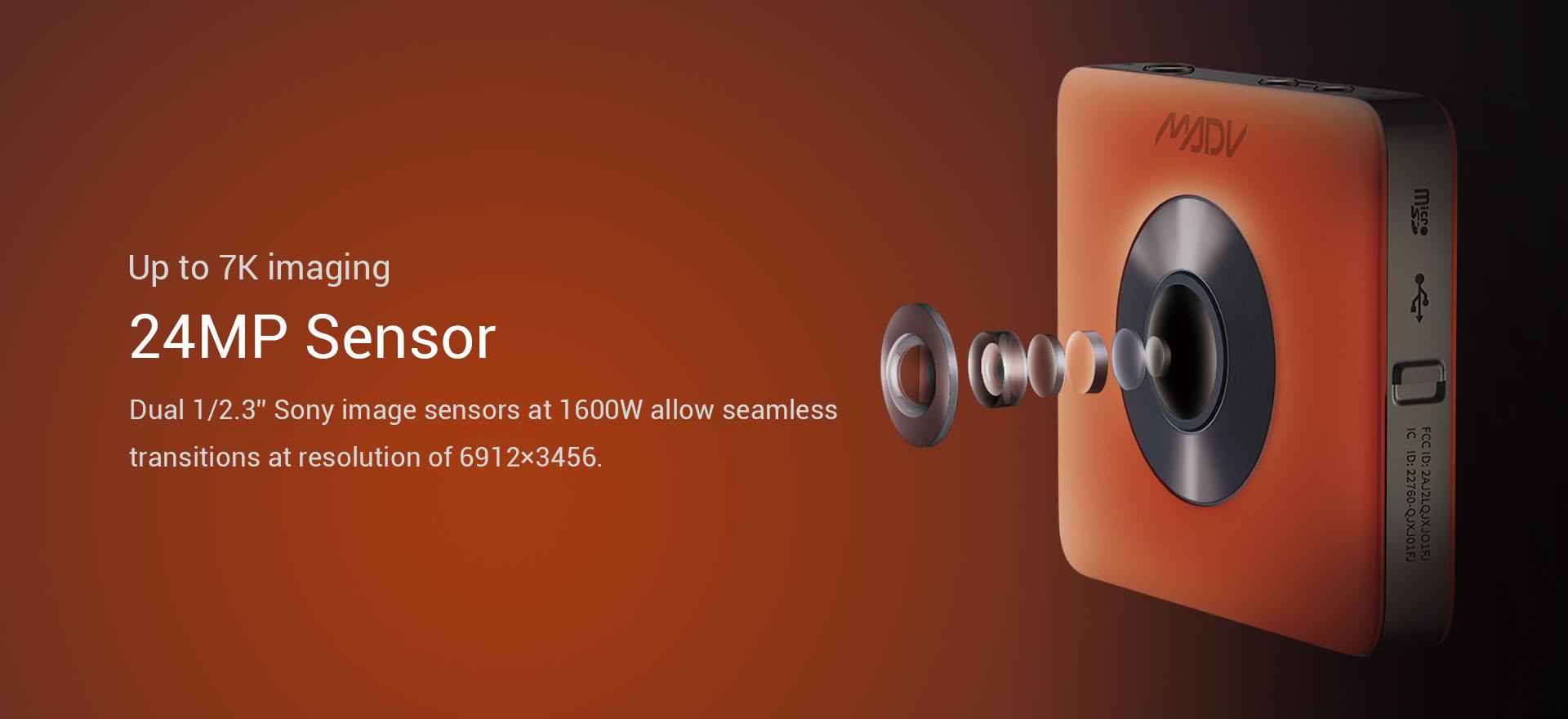 MADV360 7k 24MP action camera